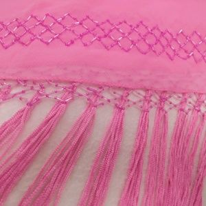 NWT - Embroidered Shawl